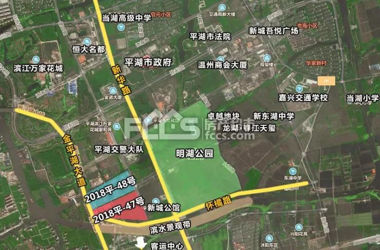 底價成交!卓越摘得平湖南市新區姊妹宅地圖片